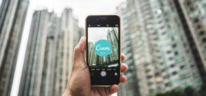 CanvaのiPhoneアプリでオシャレなデザインを簡単に作る