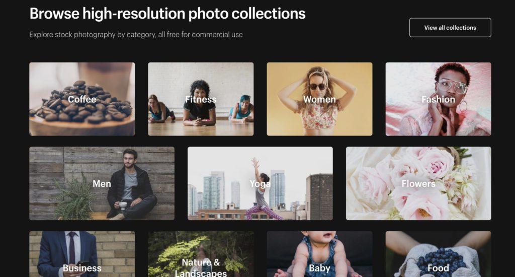 ネットショップのジャンルに合わせた多様なフリー画像。