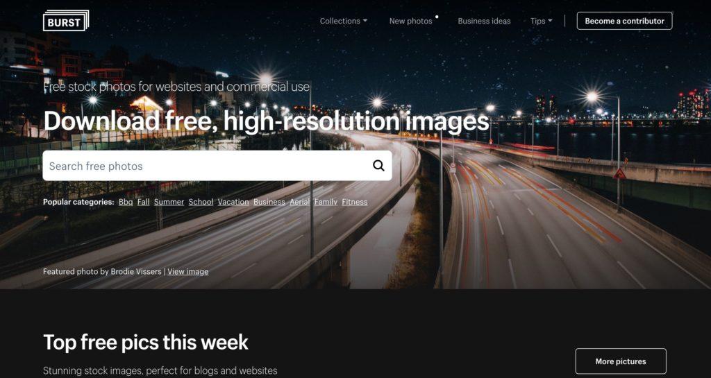 ネットショップをワンランク上のデザインにするための、おしゃれなフリー画像でも用意されている。